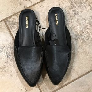 Express Pointed Toe Slide Loafers
